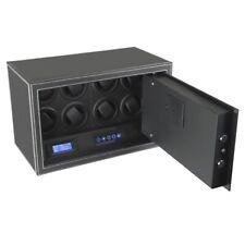 Safewinder® SmoothX 8 BLACK Uhrenbeweger & Safe
