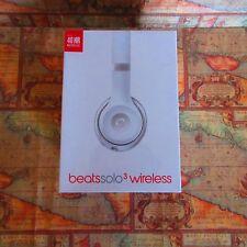 🍎~APPLE WARRANTY~Beats by Dr. Dre Solo3 Wireless Headphones Matte Silver