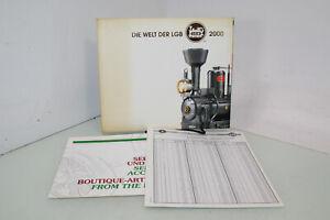 LGB Spur G Katalog 2000 Welt der LGB + Preisliste + Service- + Bauteile(JS8649)o