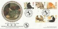 17 JAN 1995 CATS BENHAM OFFICIAL FIRST DAY COVER NEWTOWNARDS N IRELAND SHS