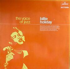 Billie Holiday - The Voice Of Jazz, Mono Vinyl LP, 9291 053, Holland