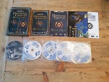Baldur's Gate II: Shadows of Amn/Throne of Bhaal, Interplay, PC CD-ROM Small Box