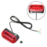 36V LED Tail Light Scooter E-bike Turn Signal Rear Lamp Electric Bicycle  +