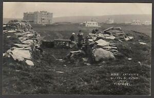 Postcard Tintagel nr Boscastle Cornwall early King Arthur's Chapel and Altar RP
