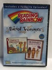 NEW Sealed Reading Rainbow - Buried Treasures DVD Mummies Made in Egypt PBS