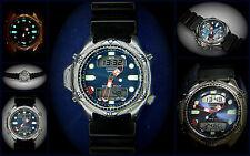 Citizen Promaster New Aqualand JP1010-00E C500 blue Dial Diver Ana Digi TOP