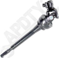 APDTY 536711 Intermediate Steering Shaft Lower w/Universal Rag U-Joint Coupler