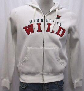 Minnesota Wild Women Full-Zip Mid Weight Hooded Sweatshirt NHL G-III Size Small
