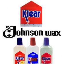 Original Formula Klear Floor Wax 250ml Tamiya Humrol Acrylic clear c2007 LIMITED