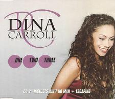 DINA CARROLL - One, Two, Three (UK 3 Tk CD Single Pt 2)
