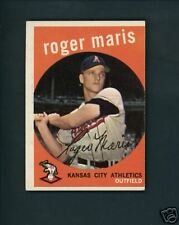 1959 Topps # 202 Roger Maris Athletics Yankees EX/MT++
