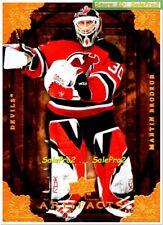 UD ARTIFACTS 2008 MARTIN BRODEUR NHL NEW JERSEY DEVILS SUPERSTAR GOALIE MINT #42