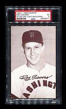 1947-66 EXHIBITS ROY SIEVERS W ON CAP LIGHT BACKGROUND SENATORS PSA 5 RARE