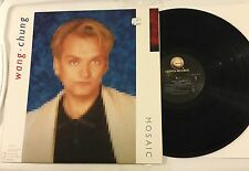 Wang Chung Mosaic 1986 Vinyl LP Everybody Have Fun Geffen 24115