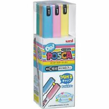 Uni POSCA DO JAPAN Drawing Pen Pens 6 Pastel colors PC1MDP6C