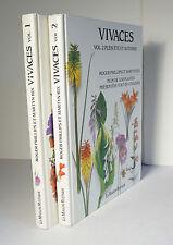 Vivaces 2 Vols 1992 Phillips Plants Flowers Botany Perrennials Color Photos HC