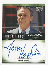 Jerry Hardin X Files Ufos & Aliens Paranormal Script Autograph Card Deep Throat