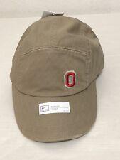 Nike Ohio Buckeyes NCAA Womens Cadet Adjustable Hat Khaki OSFA