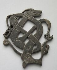 Silver Amulet Depicting a Viking Dragon
