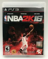 NBA 2K16 - PlayStation 3 PS3 - Tested & Complete - Free Shipping