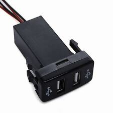 1Pcs Good DUAL USB Power Socket For Toyota Truck SUV TRD SR5 Custom Nice