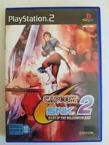 Jeux Playstation 2 ( Ps2) Capcom Vs Snk 2 Mark Of The Millennium 2001 (Fr)