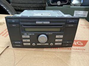 Ford Fiesta Focus 6000CD Stereo + Code 6S61-18C815-AF