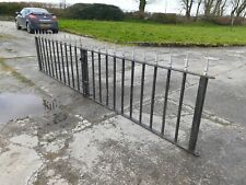 GATES Very Heavy SOLID fantastic quality Wrought IRON Delivery Possible 13' WIDE