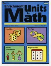 Enrichment Units in Math Vol. 3 by Dianne Draze (2005, Paperback)