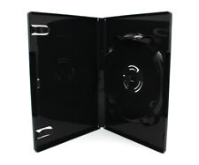 600 x 6 Fach AMARAY DVD Hüllen für 1 - 6 CD DVD Blu-Ray Hülle 14mm | Schwarz