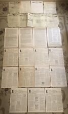 Vintage The Chess Correspondent Correspondence Chess League of America Issues