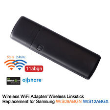 USA USB Wireless LAN Adapter WiFi Dongle Replacement for Samsung TV WIS09ABGNX