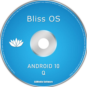 ANDROID 10 for PC (Bliss OS 12.12) DVD Bootable Operating System