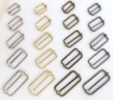 Adjustable Slide Buckles,for straps,purses,bags,Choose quantity Size & color usa
