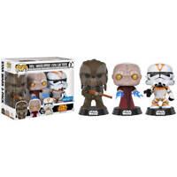 Funko POP! Star Wars 3 Pack: Tarfful, Unhooded Emperor and Utapau Clone Trooper
