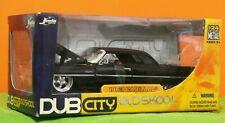 JADA TOYS - DUB CITY OLDSKOOL - 1963 CADILLAC - BLACK - 1:24 - 2005 MINT IN BOX