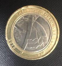 Prima GUERRA MONDIALE - 100 ANNI DELL'ESERCITO WW1 spalla a spalla - £ 2 Coin 2016