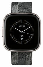 Fitbit Versa 2 Special Edition Activity Tracker - Smoke Woven/Mist Gray