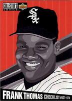 Lot Of 510 1994 Upper Deck Collector's Choice Baseball Frank Thomas Card  # 327