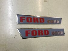 Ford 5000 Hood Decals 64-68 Model