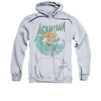 DC COMICS AQUAMAN MARCO Licensed Adult Hooded Sweatshirt Hoodie SM-3XL