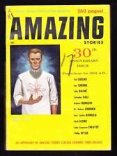 "AMAZING STORIES April 1956 - 30th Anniv. - Robert Heinlein ""As I See Tomorrow"""