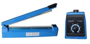300mm Hand Impulse Sealer Heat Seal Machine Poly Plastic Bag Film Sealing