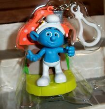 The Smurfs VANITY FIGURE Swappz SPP FOR IPHONE BACKPACK CLIP NEW NO BOX OR COIN