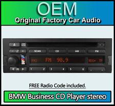 BMW 3 Series E36 Business CD43 CD player + code, Blaupunkt 7640273643 car stereo