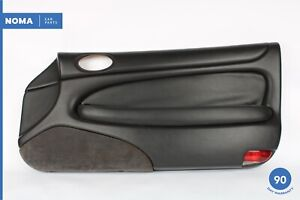 97-06 Jaguar XK8 Front Right Passenger Interior Door Panel LEG - Warm Charcoal