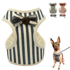 Cute Mesh Padded Dog Harness Leash Pet Puppy Cat Vest for Chihuahua Yorkie S M L