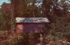 Old Covered Bridge in South Randolph Vermont VT, New England --- Bridge Postcard
