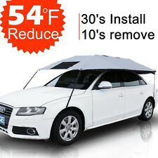 Car Sun Shade Cover Umbrella Roof Universal UV Protect Outdoor Shady Cooling
