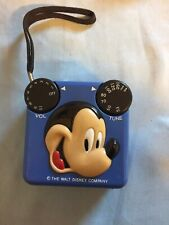 Vintage Mickey Mouse Transistor Radio From Radio Shack 12-909